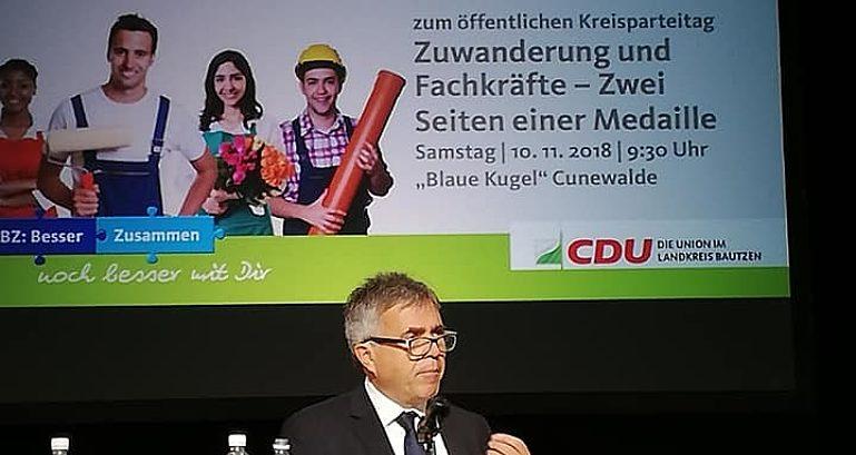 Harig Kreisparteitag Cunewalde