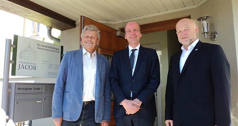 Besuch Staatsminister Dr Hass