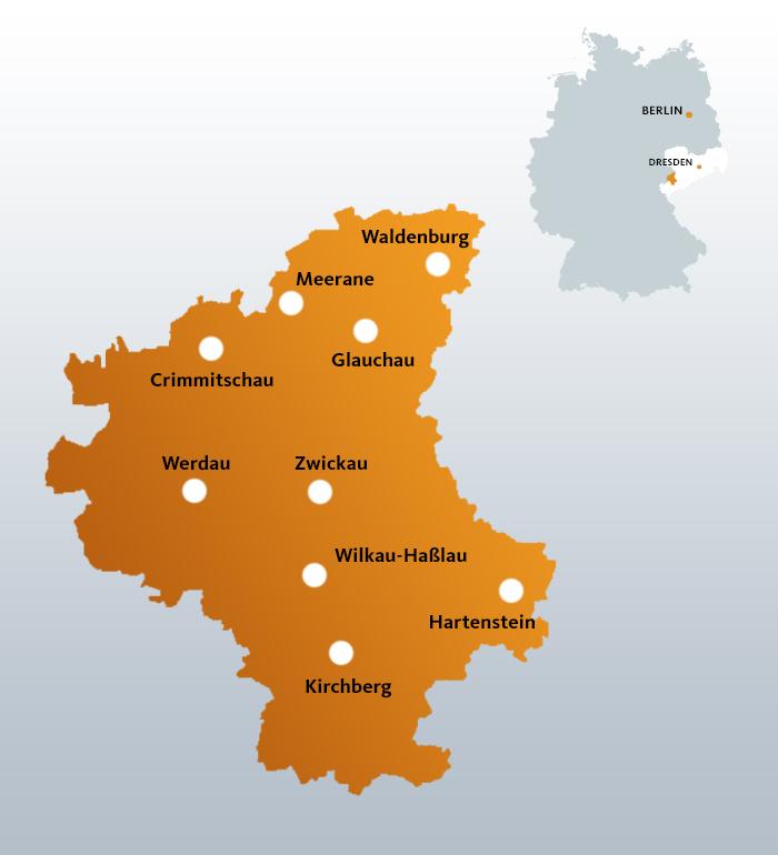 Wahlkreis 165 - Zwickau