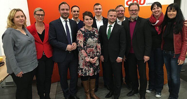 11 11 19 Kpt Chemnitzer Vorstand Mit Generalsekretaer