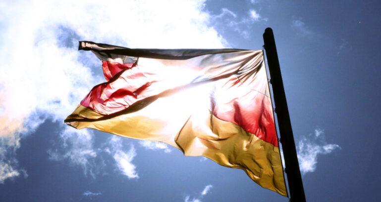 Deutschland Fahne Cdu Yvonne Herrmann