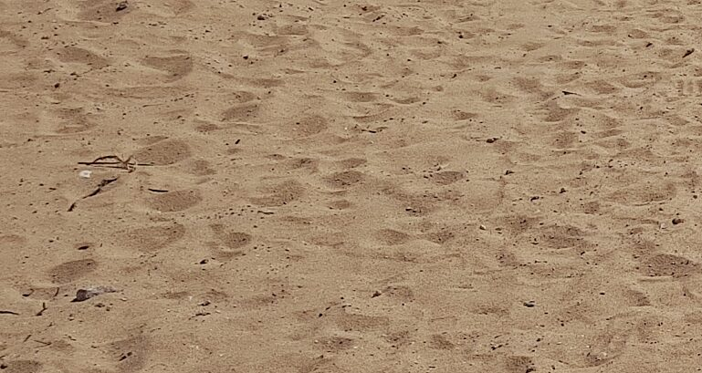 Sand Spieplatz