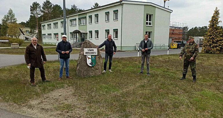 Truppenuebungsplatzoberlausitz Mit Jens Lehmann