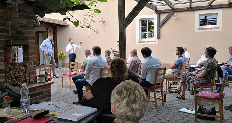 Michael Kretschmer beim CDU Kreisverband