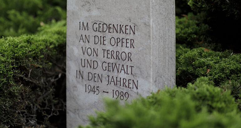 Gedenkstein auf der Reichertstraße in Görlitz
